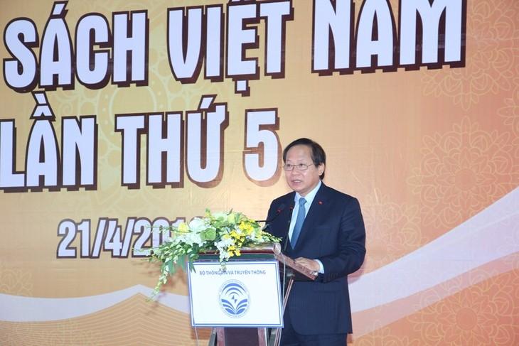 Inauguran en Hanói la quinta edición del Día Nacional del Libro  - ảnh 1