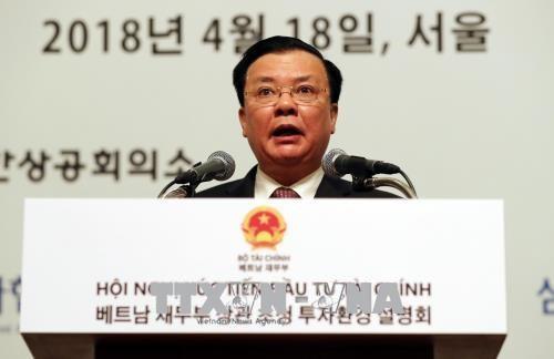Vietnam acelera promoción inversionista en Corea del Sur - ảnh 1