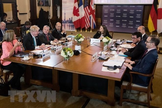 Países del G7 acuerdan postura sobre el asunto nuclear norcoreano  - ảnh 1