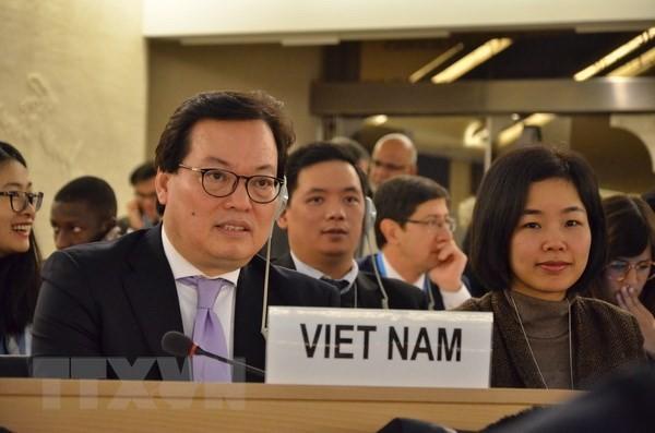 Vietnam apoya los esfuerzos de la comunidad internacional en el desarme nuclear  - ảnh 1