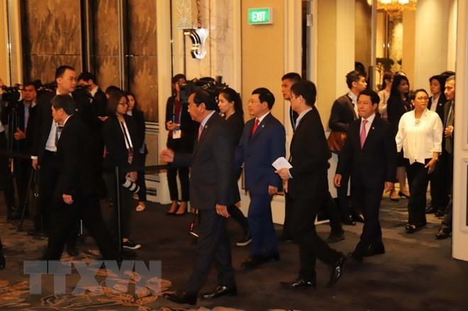 Vietnam asiste a la Conferencia de Cancilleres de la Asean  - ảnh 1