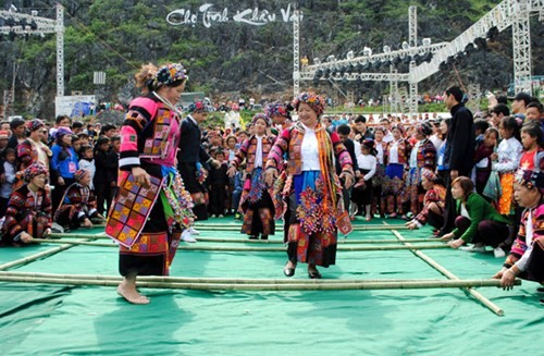 Especialidad del Festival del Mercado del Amor Khau Vai 2018 en Ha Giang  - ảnh 1