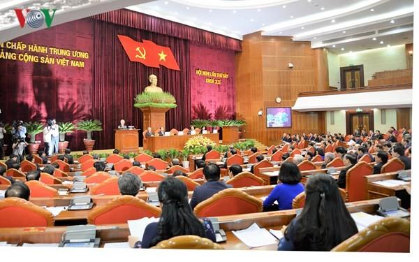 Opinión pública sobre el resultado del VII pleno del Comité Central del Partido Comunista de Vietnam - ảnh 1