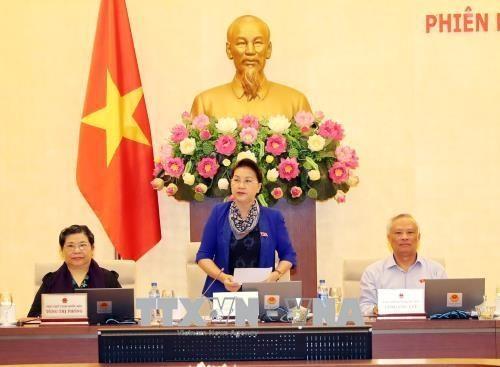 Inauguran la vigésimo cuarta sesión del Comité Permanente del Parlamento de Vietnam - ảnh 1