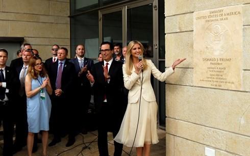 El mundo reacciona al traslado de la Embajada de Estados Unidos a Jerusalén - ảnh 1