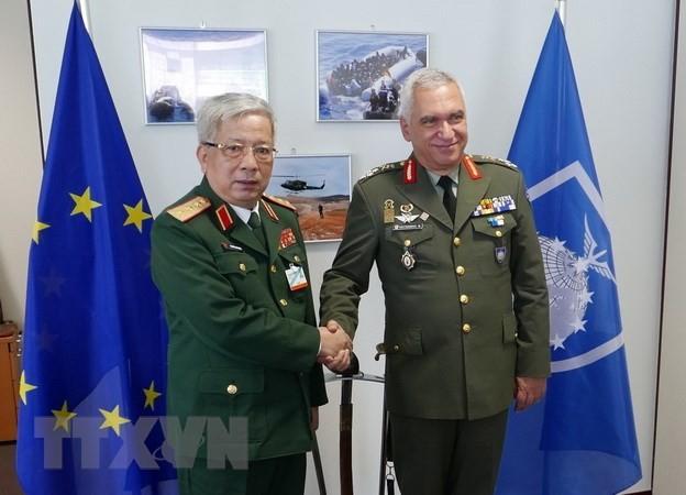 Vietnam asiste a la Conferencia de los Comandantes de Defensa de la Unión Europea  - ảnh 1