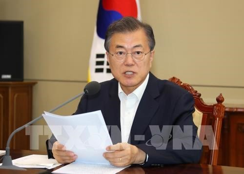 Corea del Sur busca reducir las diferencias entre Estados Unidos y Corea del Norte - ảnh 1