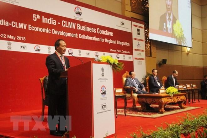 Vietnam por fortalecer la integración regional a través del mecanismo CLMV-India - ảnh 1