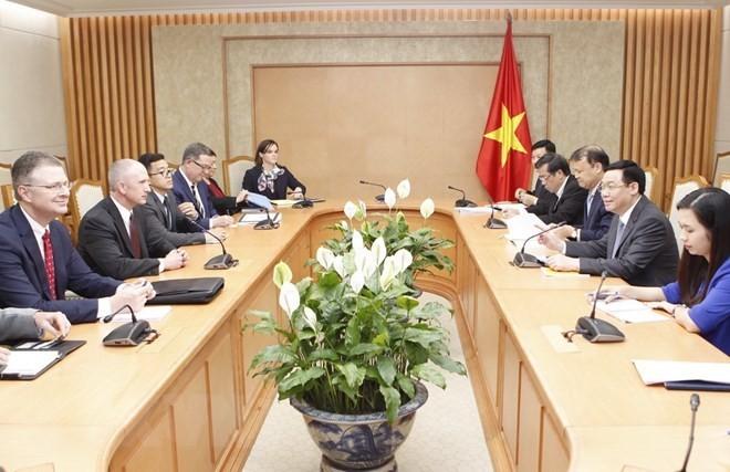 La cooperación económica, un pilar en las relaciones Vietnam-Estados Unidos  - ảnh 1