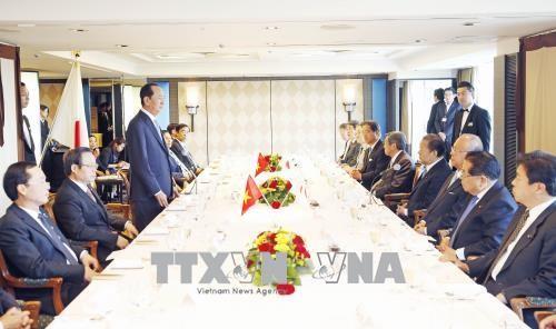 Prosiguen actividades del presidente vietnamita en su visita a Japón - ảnh 1