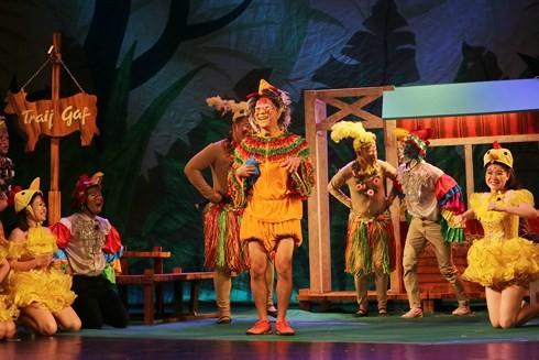Teatro de Tuoi Tre y sus programas teatrales con motivo del Día Internacional de la Infancia - ảnh 1