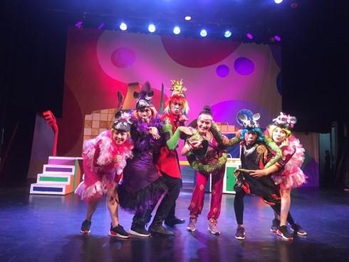 Teatro de Tuoi Tre y sus programas teatrales con motivo del Día Internacional de la Infancia - ảnh 2