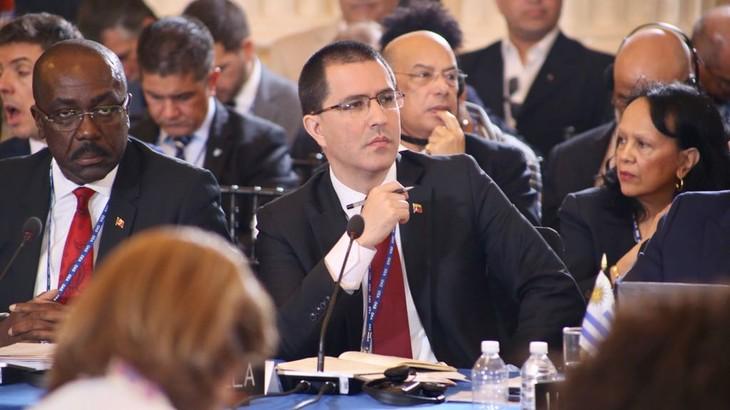 Venezuela acusa a miembros de la OEA de oponerse a principios fundamentales de soberanía - ảnh 1