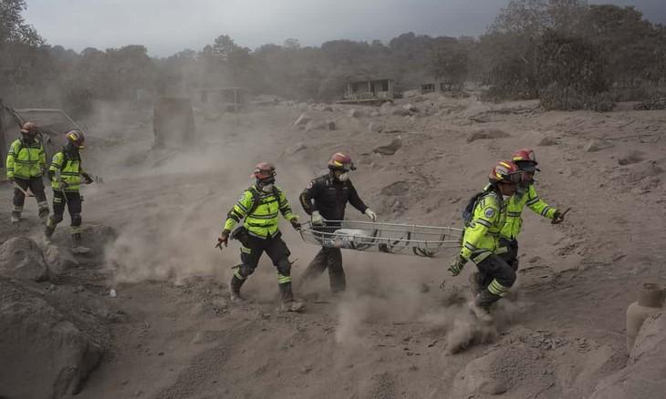Vietnam expresa su solidaridad con Guatemala después del desastre volcánico - ảnh 1