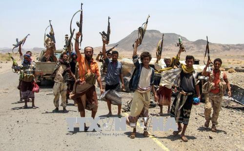 La Coalición Árabe lleva a cabo su mayor ofensiva en Yemen - ảnh 1