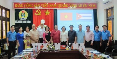 Cuba busca reforzar la cooperación sindical con Vietnam  - ảnh 1
