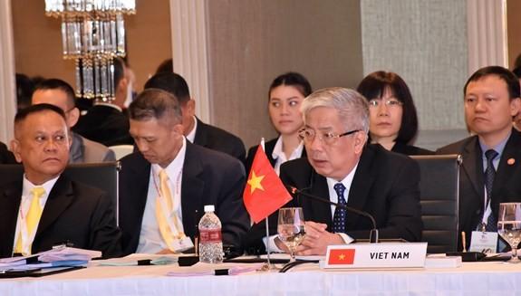 Reunión de altos funcionarios de defensa de Asean promueve cooperación y estabilidad en la región - ảnh 1