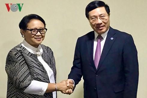 Vietnam e Indonesia por elevar su comercio a 10 mil millones de dólares en 2020 - ảnh 1