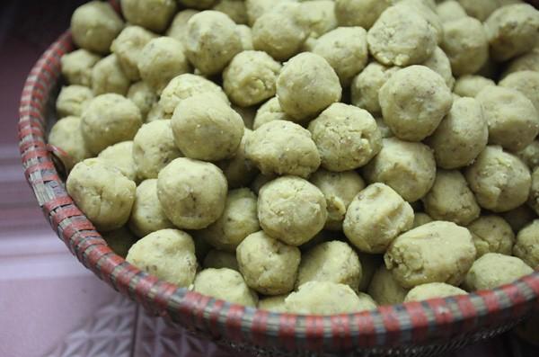 Pastel de arroz glutinoso de Quan Ganh - ảnh 1