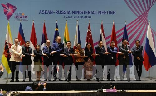 Celebran reuniones conexas al margen de la Conferencia Ministerial de la Asean - ảnh 1