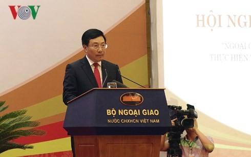 Inaugurada la trigésima Conferencia Nacional sobre Diplomacia - ảnh 1