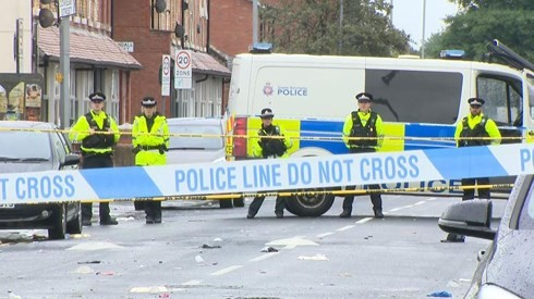 Tiroteo en el Reino Unido deja al menos 10 heridos  - ảnh 1