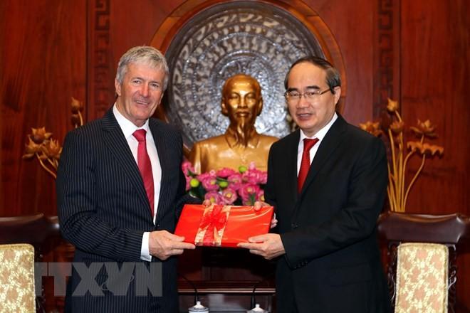 Ciudad Ho Chi Minh y Nueva Zelanda afianzan cooperación en inversión, comercio y agricultura - ảnh 1