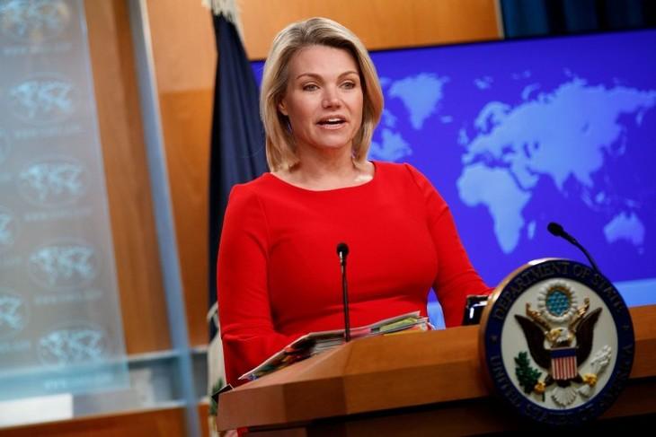 Estados Unidos insiste en no declarar fin de la Guerra de Corea antes la total desnuclearización  - ảnh 1