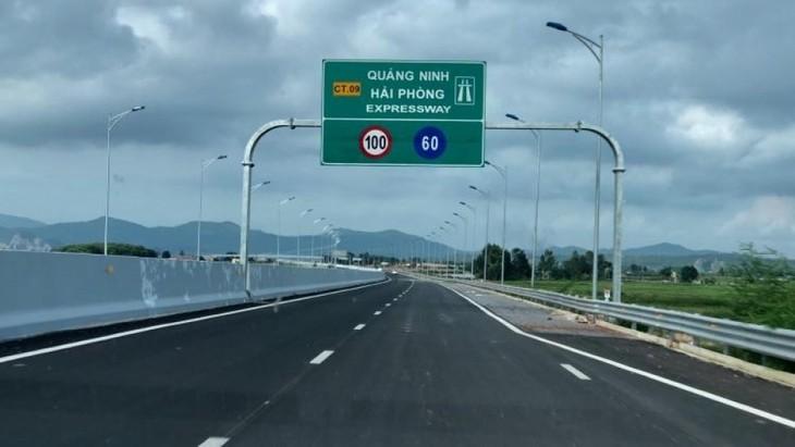 Puesta en marcha de la autopista Ha Long-Hai Phong - ảnh 1
