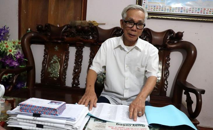 Nguyen Tien Xuan conecta la Voz de Vietnam con familias de mártires - ảnh 1
