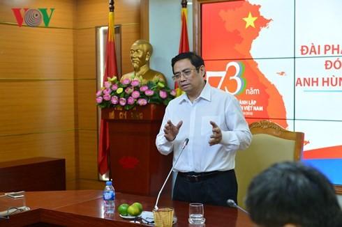 Dirigente partidista urge a la Voz de Vietnam más atención a la capacitación de recursos humanos  - ảnh 1