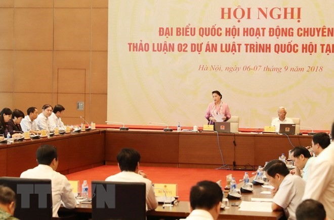 Someten a debates proyectos de Ley Anticorrupción y Educación Universitaria de Vietnam - ảnh 1
