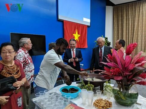 Inician la construcción de la sede del Club de los vietnamitas en Vanuatu - ảnh 1