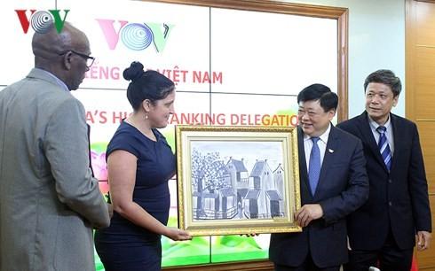 Fortalecen cooperación entre la Voz de Vietnam y el periódico cubano de Granma - ảnh 2
