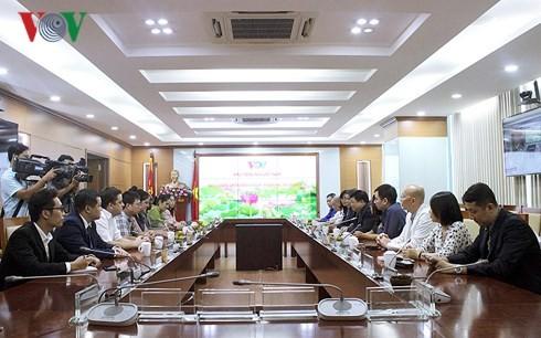 Fortalecen cooperación entre la Voz de Vietnam y el periódico cubano de Granma - ảnh 1