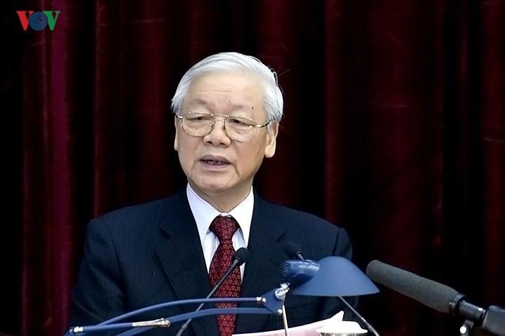Líder político vietnamita exige asumir responsabilidades en temas decisivos del país  - ảnh 1