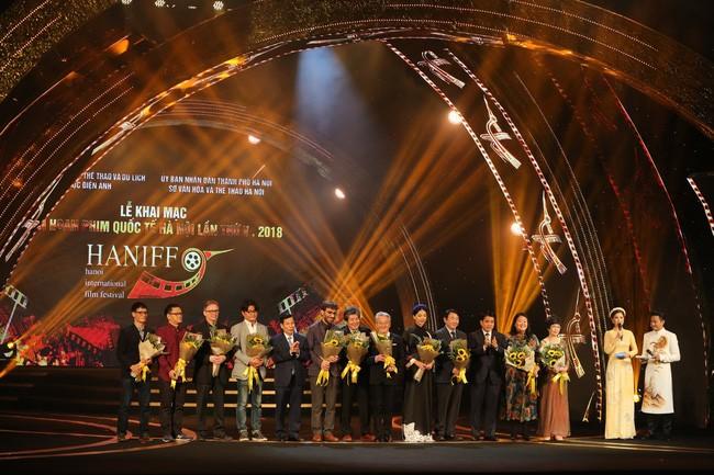 Inauguran el V Festival Internacional de Cine de Hanói - ảnh 1