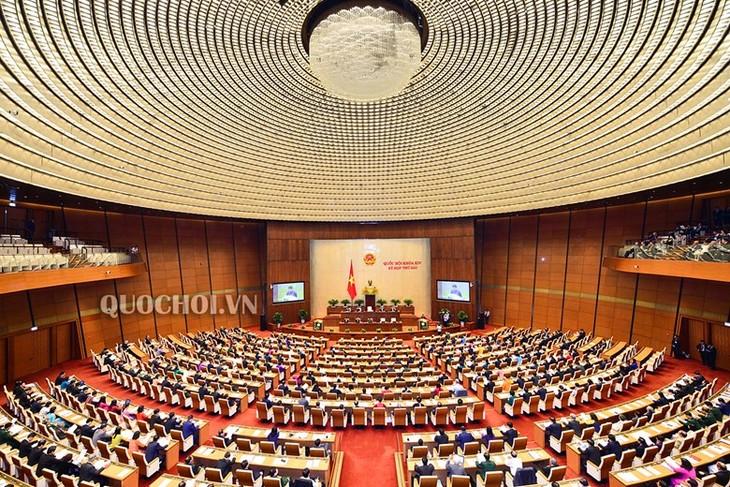 Parlamento vietnamita evalúa operaciones de inversión pública  - ảnh 1