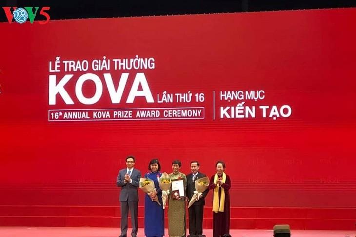 Vietnam entrega Premio Kova 2018 - ảnh 1