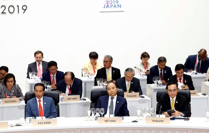 Premier vietnamita participa en actividades de la Cumbre del G20 - ảnh 1