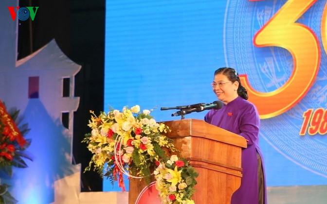 Celebran 30 años del restablecimiento de la provincia de Quang Tri - ảnh 1