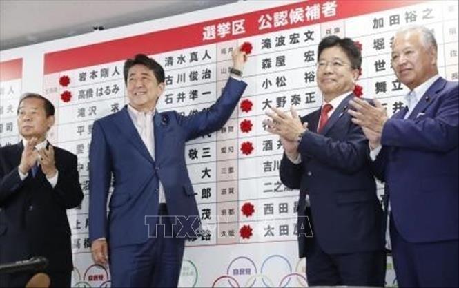 Japón: Partido del premier Abe Shinzo gana elecciones - ảnh 1