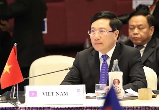 Reunión Ministerial de la Asean por respeto a leyes internacionales en el Mar Oriental - ảnh 1