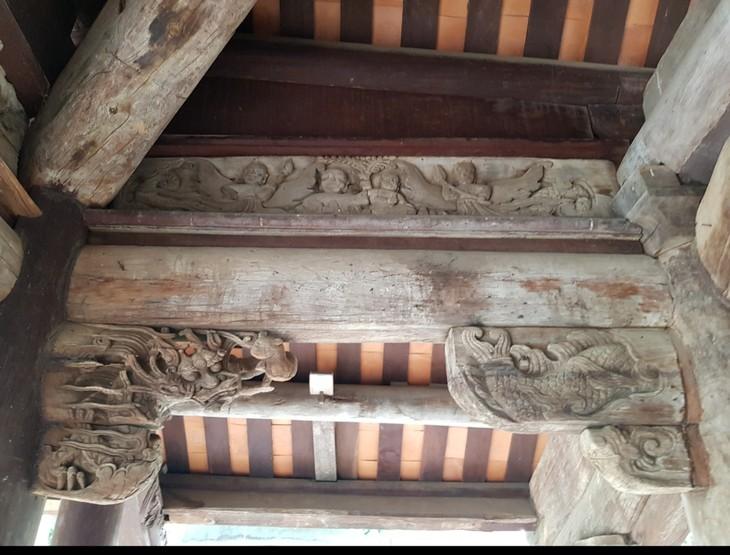 Casa comunal de Tay Dang, un Patrimonio Nacional Especial de Hanói - ảnh 2