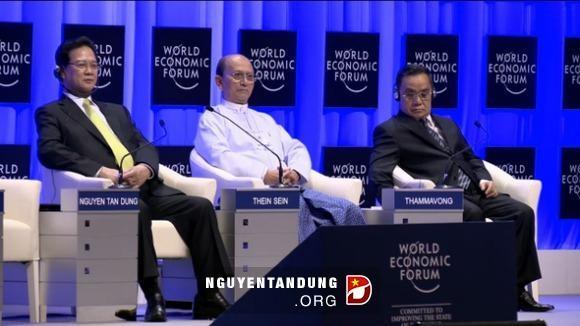 ท่าน Nguyễn Tấn Dũng นายกรัฐมนตรีเข้าร่วมฟอรั่มเศรษฐกิจโลกว่าด้วยเอเชียตะวันออก - ảnh 1