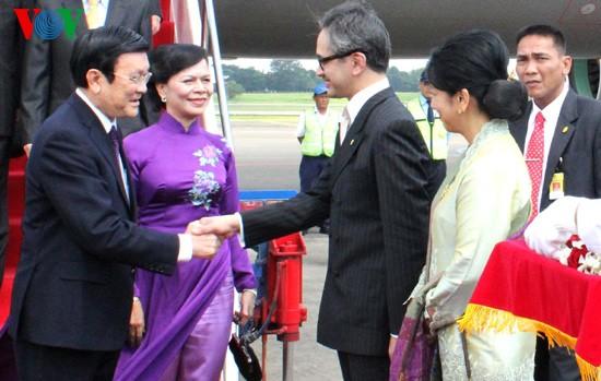 ประธานประเทศ เจืองเติ๊นซาง เยือนประเทศอินโดนีเซีย - ảnh 1