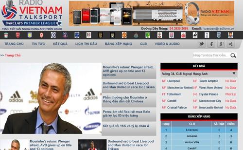 สถานีวิทยุเวียดนามได้ลิขสิทธิ์ในการออกอากาศฟุตบอลพรีเมียร์ลีก - ảnh 1