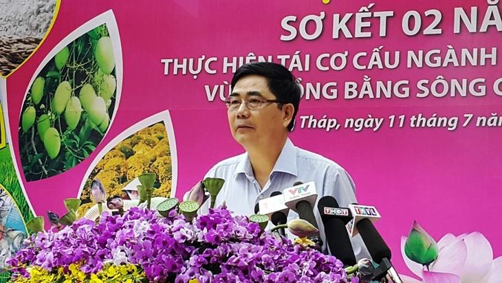 รัฐมนตรีว่าการกระทรวงการเกษตรพัฒนาชนบทลงพื้นที่จังหวัดซอกจัง - ảnh 1