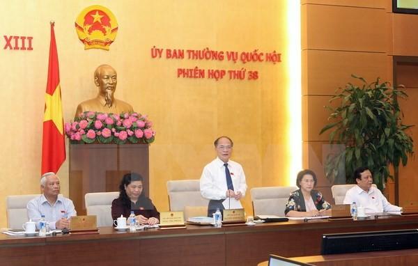เปิดการประชุมคณะกรรมาธิการสามัญแห่งรัฐสภาครั้งที่ 39 - ảnh 1