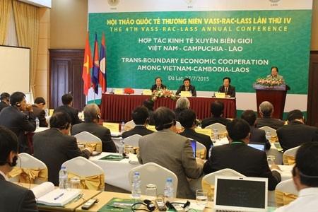 ขยายความร่วมมือด้านเศรษฐกิจข้ามแดนเวียดนาม-กัมพูชา-ลาว - ảnh 1